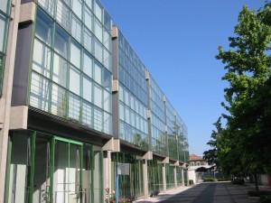 facciata interna e cortile